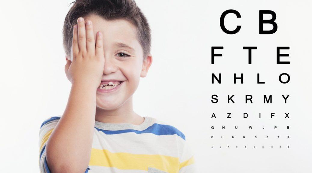 Visita oculistica bambini