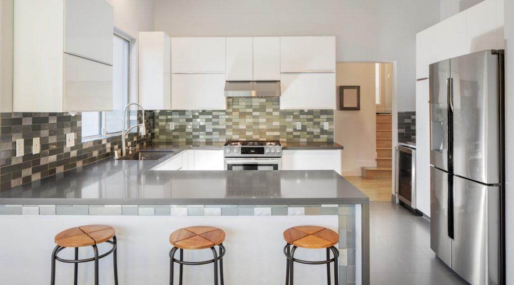 Cucine con penisola como idee dietro l 39 angolo - Cucine in muratura con penisola ...